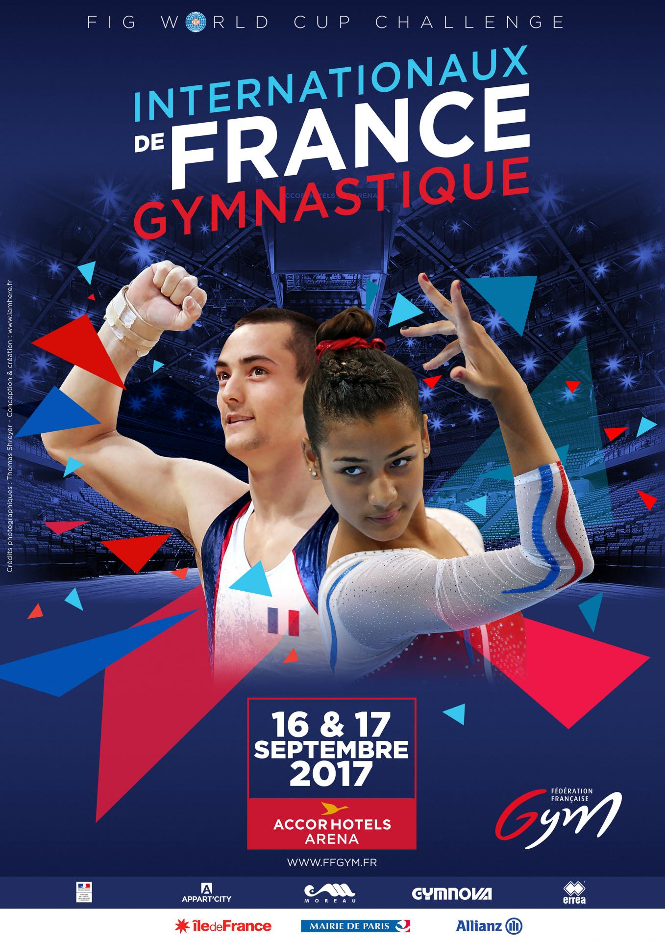 Internationaux de France, Gym